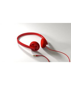 Matix Bulkhead Red Headphones