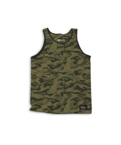 Matix Trip Army Men's Tank
