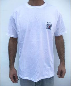 Microxtreme Old School White Αντρικό T-Shirt
