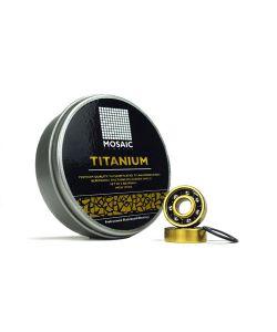 MOSAIC SUPER TITANIUM 1 ABEC 7 BLACK ΡΟΥΛΕΜΑΝ