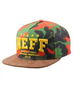 Neff  Navy Nautical Snapback Green Καπέλο