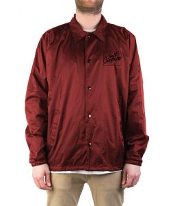 Neff Battered Coaches Maroon Windbreaker