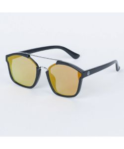 NEFF COASTLINE BLACK SILVER MIRROR SUNGLASSES