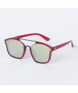 Neff Coastline Red Ice Gold Mirror Sunglasses