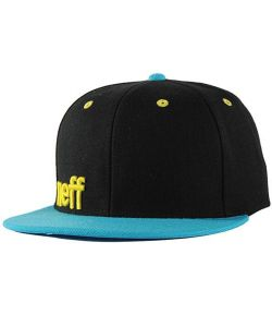 Neff Daily Black Blue Yellow Hat