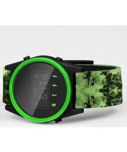 Neff Daily Digital Green Wash Black Slime Watch