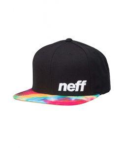 Neff Daily Pattern Black Tye Dye Hat