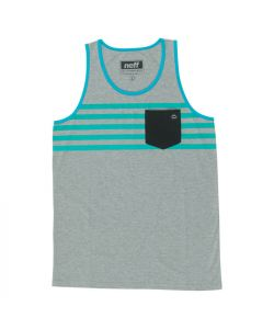 Neff Daily Pocket Athletic Heather Men's Tank