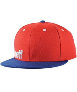 Neff Daily Red Navy White Hat