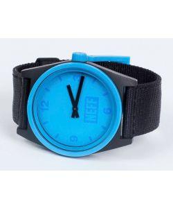 Neff Daily Watch Black Cyan Woven Watch