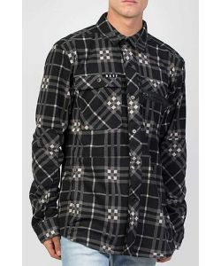 NEFF ENGINE FLANNEL BLACK ΠΟΥΚΑΜΙΣΟ