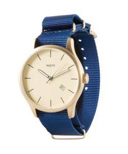 Neff Esteban Gold Blue Watch