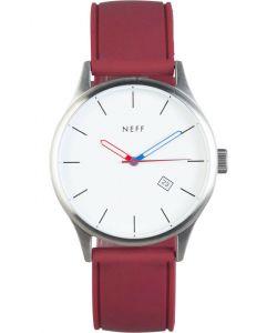 Neff Esteban Pu White Maroon Watch