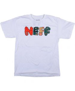 Neff Fuzzies White Παιδικό T-Shirt