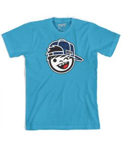 NEFF KENNY FILL TURQUOISE YOUTH T-SHIRT
