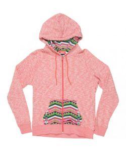 Neff Malibu Coral Women's Zip Hood