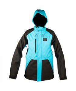Neff Marco Softshell Teal Snow Jacket