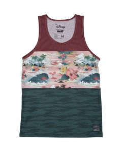 Neff Monstro Maroon Black Men's Tank