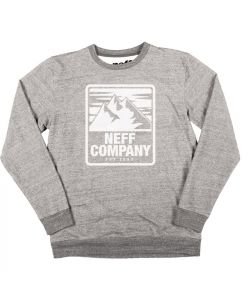 Neff Mountaineering Men's Crew Grey Heather