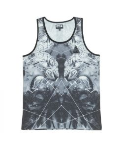 Neff Mystikat Black White Men's Tank
