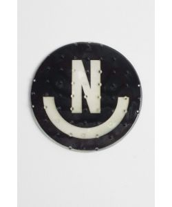 NEFF N-SMILE LOGO BLACK STOMP PAD