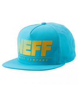Neff Neon Krinkle Deconstructed Cyan Καπέλο