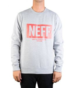 NEFF NEW WORLD CREW ATHLETIC HEATHER ΦΟΥΤΕΡ