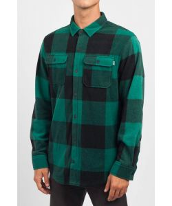 NEFF PEAK BUTTON UP (POLAR FLEECE) FOREST ΠΟΥΚΑΜΙΣΟ