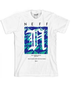Neff Shark Filled White Παιδικό T-Shirt