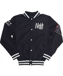Neff Snake Life Bomber Black Men's Jacket