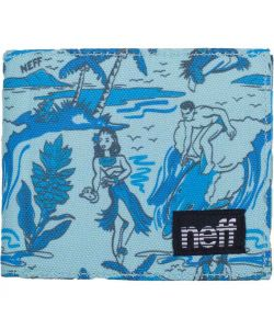 NEFF SUN FUN BLUE WALLET