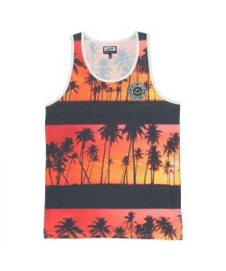 Neff Sunset Orange Men's Tank