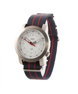 Neff Tactical Silver Navy Watch