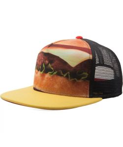 Neff The Hawk Trucker Burger Hat