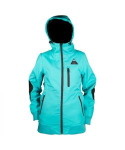 NEFF TRINA TEAL WOMENS SOFTSHELL