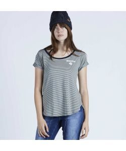 Nikita Femme Ss Black/White Stripe Γυναικείο T-Shirt