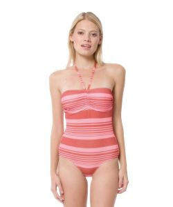 NIKITA FISKA ONE PIECE BAKED CLAY STRIPE