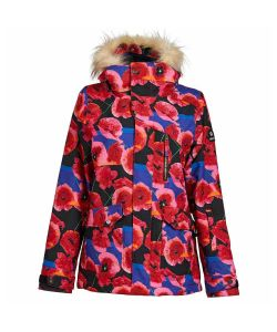 Nikita Hawthorne Print Pansy Women's Snow Jacket