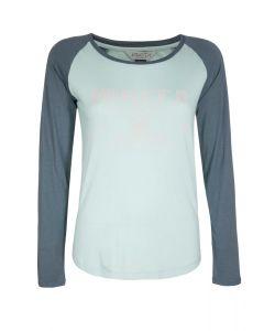 Nikita Maywood Blue Haze Women's Long Sleeve T-Shirt