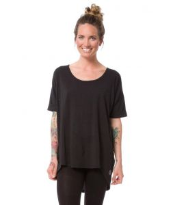 Nikita Pier Top Jet Black Women's T-Shirt