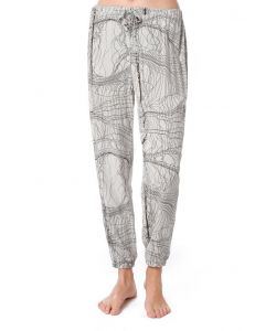 Nikita Slate String Print Silver Birch Women's Pants