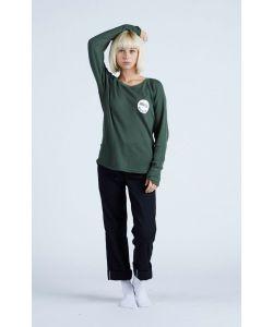 Nikita Tour L/S Tee Fatigue Women's Long Sleeve T-Shirt