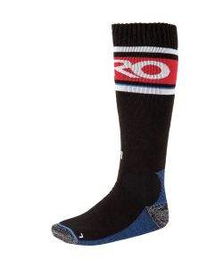 Nitro Anthem Black White Red Blue Snow Socks