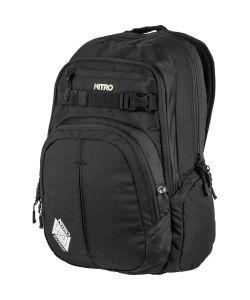 Nitro Chase Black Backpack