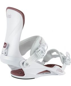Nitro Cosmic White Pearl Women's Snowboard Bindings