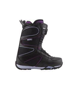 Nitro Crown Tls Black-Pure Γυναικείες Μπότες Snowboard