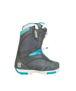 Nitro Crown Tls Grey-Bone-Turquoise Γυναικείες Μπότες Snowboard
