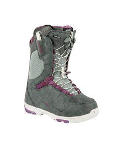 Nitro Crown Tls Slate Grey Purple Γυναικείες Μπότες Snowboard