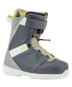 Nitro Droid Qls Navy Blue Grey Yellow Παιδικές Μπότες Snowboard