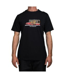 Nitro Firetruck Black Men's T-Shirt